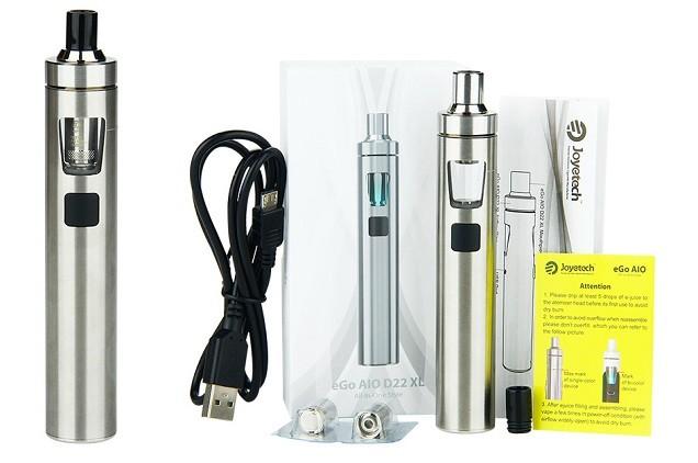 eGo AIO D22 XL - Meilleur kit de démarrage pour stylo vape
