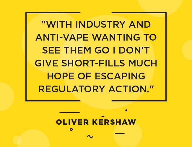 """Citation d'Oliver Kershaw: """"L'industrie et l'anti-vape voulant les voir partir, je ne donne pas beaucoup d'espoir d'échapper à l'action du régulateur."""" """"Width ="""" 650 """"height ="""" 500 """"srcset ="""" https: // www.ecigarettedirect.co.uk/ashtray-blog/wp-content/uploads/2018/12/2019-Predictions-Quotes-Oliver-Kershaw-edit-04.jpg 650w, https://www.ecigarettedirect.co.uk /ashtray-blog/wp-content/uploads/2018/12/2019-Predictions-Quotes-Oliver-Kershaw-edit-04-300x231.jpg 300w """"tailles ="""" (largeur maximale: 650px) 100vw, 650px"""