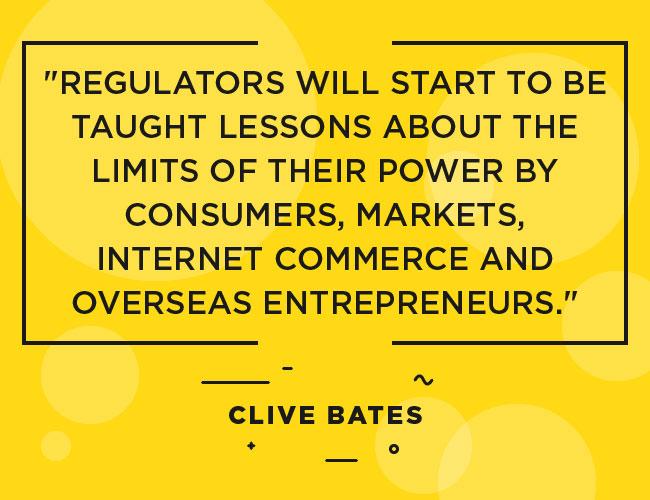 """Clive Bates - Citation: Les consommateurs, les spécialistes du marketing, le commerce sur Internet et les entrepreneurs étrangers commenceront à enseigner aux régulateurs des leçons sur les limites de leur pouvoir. """"width ="""" 650 """"height ="""" 500 """"srcset ="""" https://www.ecigarettedirect.co.uk/ashtray-blog/wp-content/uploads/2018/12/Quotes-Clive-Bates-02.jpg 650w , https://www.ecigarettedirect.co.uk/ashtray-blog/wp-content/uploads/2018/12/Quotes-Clive-Bates-02-300x231.jpg 300w """"tailles"""" (largeur maximale: 650 pixels) 100vw, 650px"""