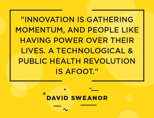 """David Sweanor Citation: L'innovation prend de l'ampleur et les gens aiment avoir le pouvoir sur leur vie. Une révolution technologique en matière de santé publique est en marche. """""""" Width = """"650"""" height = """"500"""" srcset = """"https://www.ecigarettedirect.co.uk/ashtray-blog/wp-content/uploads/2018/12/ Quotes-David-Sweanor-05.jpg 650w, https://www.ecigarettedirect.co.uk/ashtray-blog/wp-content/uploads/2018/12/Quotes-David-Sweanor-05-300x231.jpg 300w """" tailles = """"(largeur maximale: 650px) 100vw, 650px"""