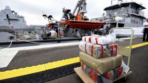 Douane: saisie spectaculaire de 7,4 tonnes de cannabis en Méditerranée