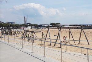 """Saint-Nazaire: un """"terrain de jeu sans fumée"""" prudent"""