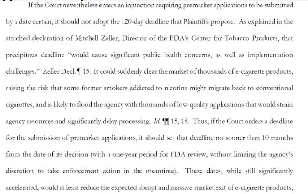 Risques liés aux réglementations de la FDA