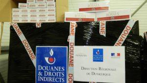 Trafic transmanche: saisie de six tonnes de cigarettes de contrebande par des agents des douanes à Calais