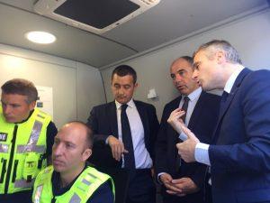 Bilan douanier: communiqué de presse de Bercy