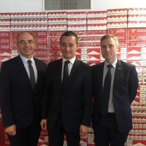 Douane: bilan semestriel de la lutte contre le commerce du tabac