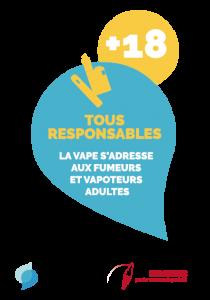 """La Confédération et France Vapotage lancent une campagne commune sur le """"Vaping Responsable"""""""