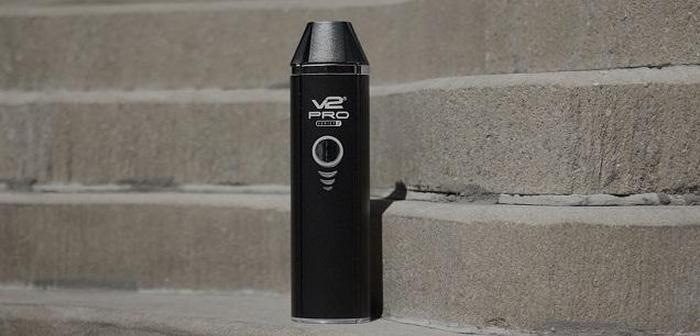 V2 Cigs Pro Series 7 - Meilleur vaporisateur d'herbe sèche portable