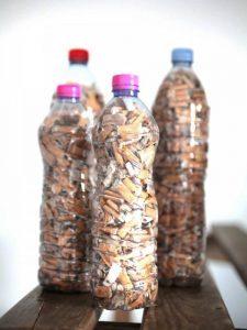 Mégots: des bouteilles à la mer ...