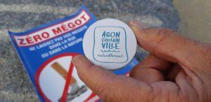 """Manche: une """"plage sans tabac"""", avec cendriers de poche, à Agon-Coutainville"""
