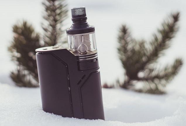 Vaping et conduite dans le froid