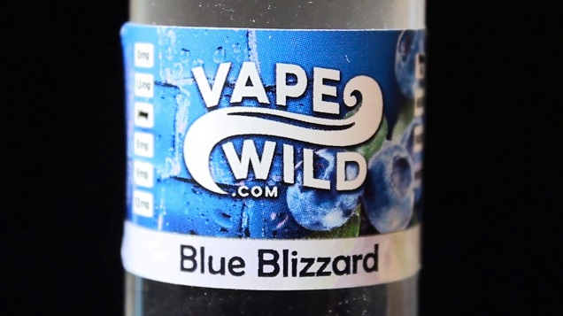 Blue Blizzard Menthol Liquid