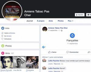Amiens: comment les cigarettes sont vendues sur le web