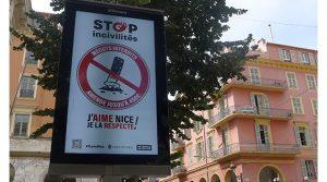 Culs: amende jusqu'à 450 euros à Nice ...