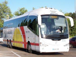 De retour de Madrid en bus ... avec un stock de cartouches de cigarettes d'Afrique