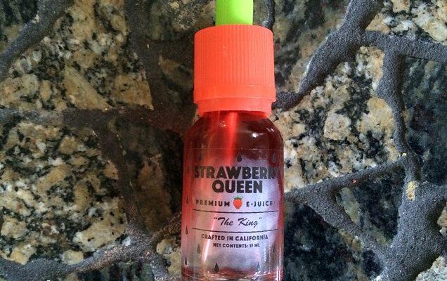 E-liquide à saveur mentholée du roi