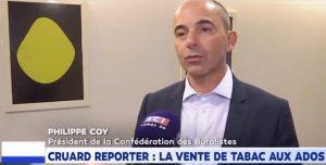 """Interdiction de vendre du tabac aux mineurs: """"nous lançons une campagne dans le réseau"""" (Philippe Coy / LCI)"""
