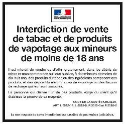 """Magasins de tabac et vente aux mineurs: """"de la réglementation à l'éthique"""" (Philippe Coy / Le Losange)"""