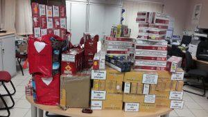 Occitanie douanière: 1 384 boîtes de contrebande en trois opérations