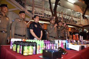 Thaïlande: Smart à la chasse aux cigarettes électroniques