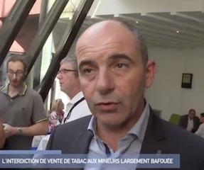 """Vente de tabac à des mineurs: """"les résultats de l'enquête ne sont pas acceptables"""" (Philippe Coy)"""