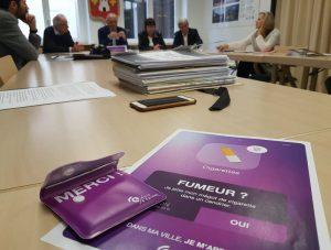 Mégots: campagne municipale à Épinal, en collaboration avec les buralistes