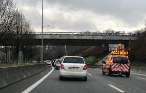 De retour du Luxembourg: l'accident qui rend le trafic auto-satisfait