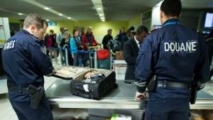 Douane: évaluation hebdomadaire des saisies du 16 au 22 décembre