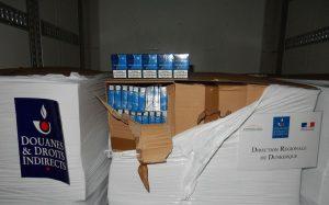 Trafic transmanche: 4 tonnes de cigarettes de contrebande interceptées dans un camion