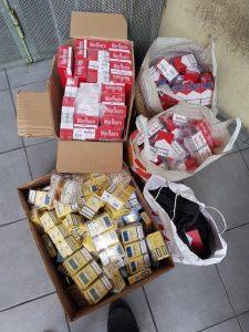 Fun: supermarchés, marchés ... pas de pause dans les hotspots de contrebande de cigarettes