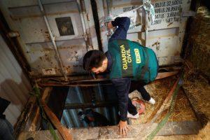 Usine souterraine d'Espagne