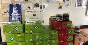 Perpignan: nouvelle importante saisie douanière de tabac à chicha
