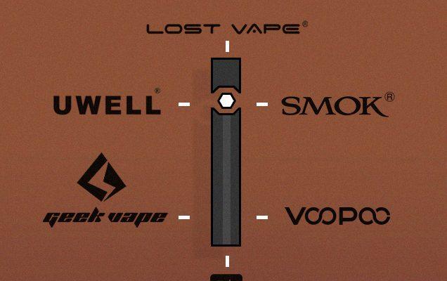 Les meilleures marques de Pod System Vape