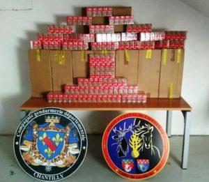 """Chantilly: 400 cigarettes confisquées ... et retour du """"secteur afghan"""""""