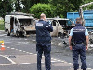 Logistique tabac: vol important d'un camion Logista près de Lyon