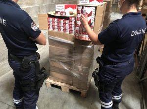Angers: fermé pendant 15 mois au chauffeur routier avec 250 cartons de cigarettes contrefaites