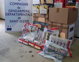 Haute-Marne: la malle remplie de tabac ... de retour du Luxembourg