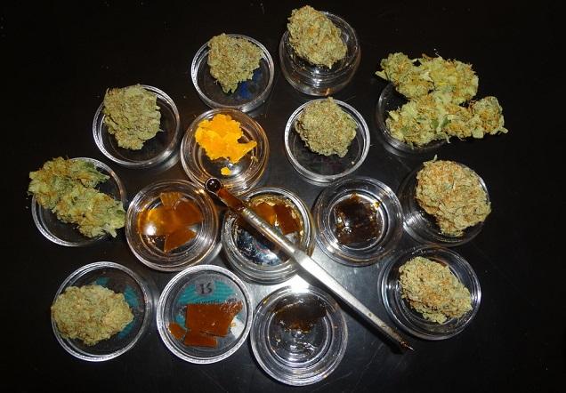Vapotage d'huile de cannabis