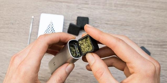 Ajouter de la marijuana au vaporisateur
