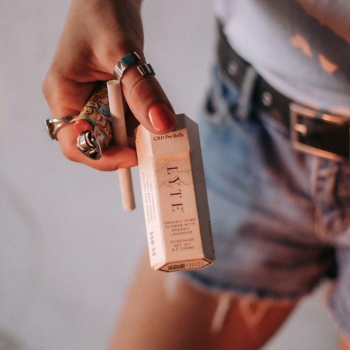 Cigarettes Lyte CBD fleur de chanvre