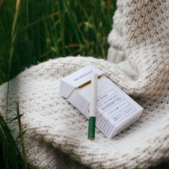 Cigarettes au chanvre CBD Neurogan