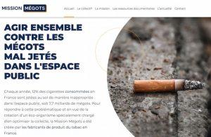 Butts: Mission Mégots a un site internet