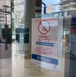 Châtillon: c'est exemplaire ... cette mobilisation municipale contre la revente hâtive des cigarettes