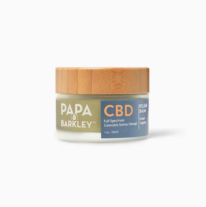 Baume au chanvre CBD Papa Barkley