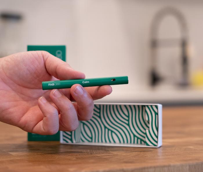 FAB CBD Vape Pen à large spectre