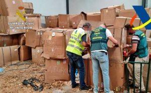 Espagne: Nouvelle découverte de la traite des êtres humains ... avec la saisie de 53 tonnes de feuilles de tabac