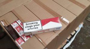 Belgique: une cargaison de cigarettes de contrebande, prête à partir pour la France, interceptée