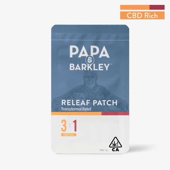 Patch CBD THC Papa & Barkley