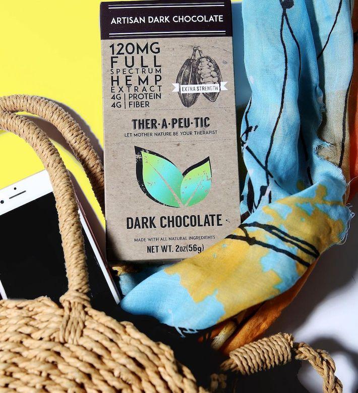 Chocolat CBD au chanvre Thera Treats
