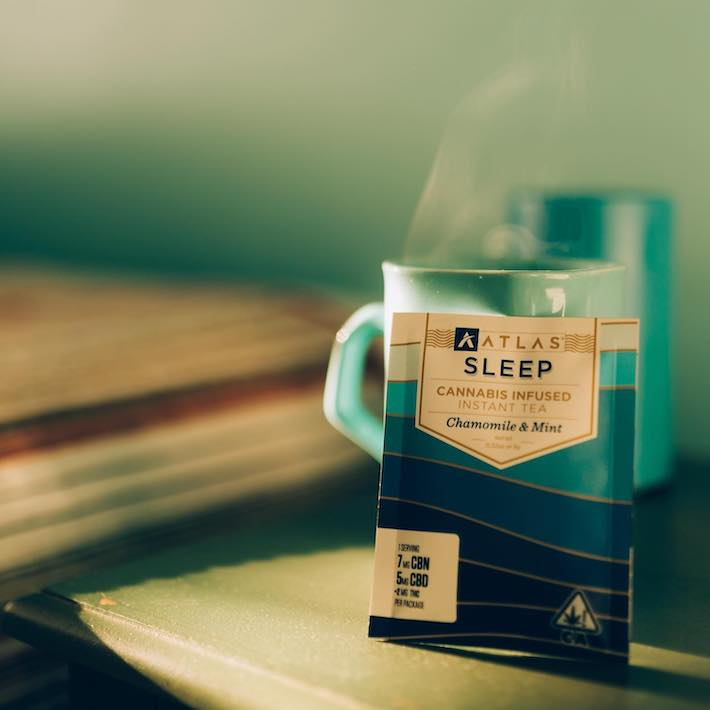 Thé au cannabis pour dormir